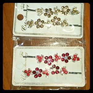 Accessories - 🆕️Rhinestone hair pin set